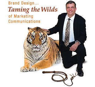 Taming the Wilds of Marketing Communications by Brand Design of Warrenton, VA - providing graphic design, marketing, advertising and print media solutions.