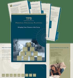 TFB Wealth Management folder and inserts