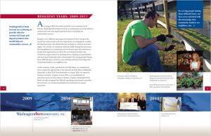 WashingtonFirst Bank 2014 Annual Report interior spread