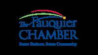 The Fauquier Chamber in Fauquier County VA logo design
