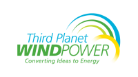Third Planet Wind Power logo design
