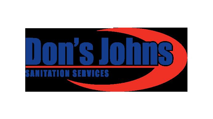Don's Johns Sanitation Services in Virginia logo design