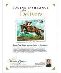 Ad for Norden Equine Worldwide in Warrenton VA