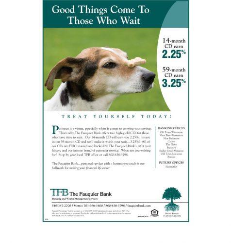 TFB in Warrenton and Manassas VA magazine ad