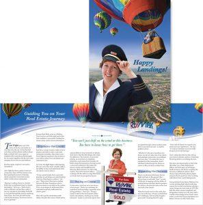 Terri Flight in Virginia Real Estate Agent brochure
