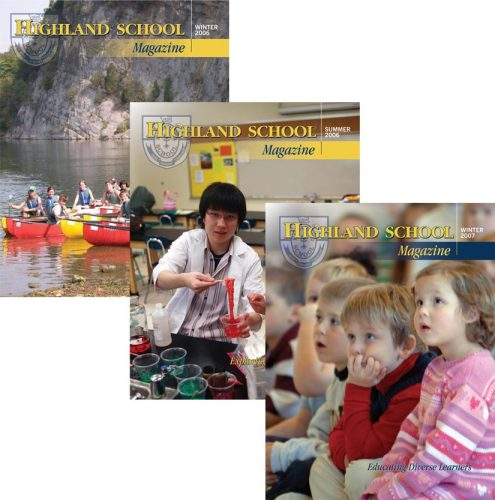 Highland School in Warrenton VA Magazines