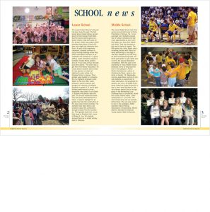 Highland School in Warrenton VA Magazine Spread
