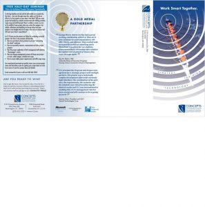 Ci2 direct mail brochure outside spread
