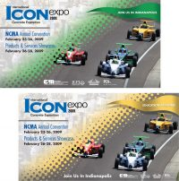 NCMA ICON Expo postcards