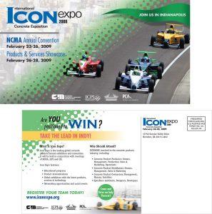 NCMA Icon Expo postcard