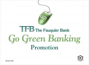 TFB Go Green Banking Promotion